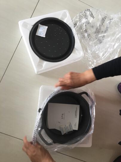 网易严选 传世珐琅锅 铸铁搪瓷炖锅煲汤锅 22cm直径有盖直火电磁炉通用 森林绿 晒单图