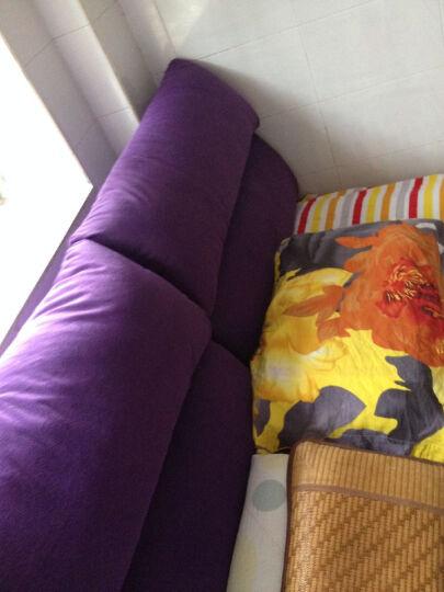 丽美诗 布床 双人布艺床 卧室家具 1116 黑色 1.8*2米 晒单图