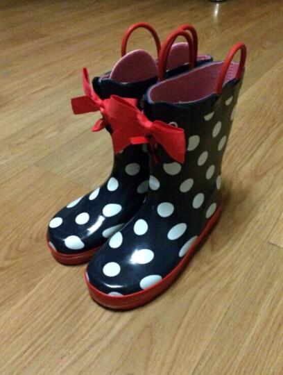 夜雨(NightRain) 夜雨儿童雨鞋 男 套鞋儿童雨靴小孩雨鞋水鞋胶鞋男童童鞋 愤怒的小鸟 34--建议35码脚穿 晒单图