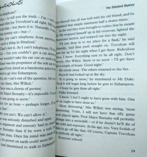 Sittaford Mystery (Agatha Christie Signature Edition)[斯塔福特疑案] 晒单图