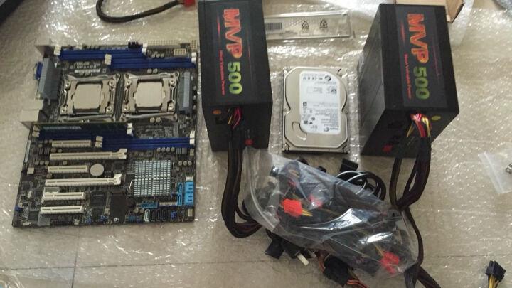 华硕(ASUS) Z10PA-D8 (双CPU/双千兆/多内存) 服务器工作站绘图游戏吃鸡主板 晒单图