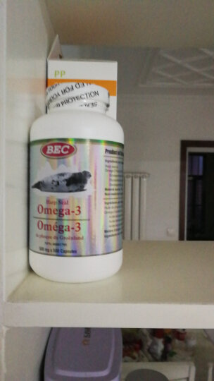 BEC加拿大原装进口海豹油软胶囊 500mg*500粒单瓶 晒单图