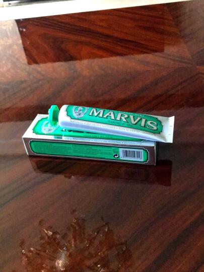 原装进口意大利Marvis玛尔斯牙膏 绿色 经典薄荷75ml 祛除烟渍 晒单图