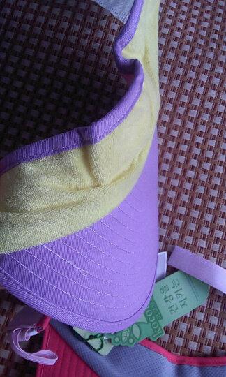 kk树 kocotree  儿童帽子夏天男女童亲子帽空顶太阳帽宝宝防晒帽 升级版-粉蓝色 成人款【建议年龄8-成人】 晒单图