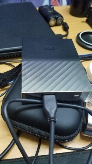 西部数据(WD)2TB USB3.0移动硬盘My Passport Ultra  2.5英寸 魅力黑(华丽设计 时尚有型)WDBFKT0020BGY 晒单图