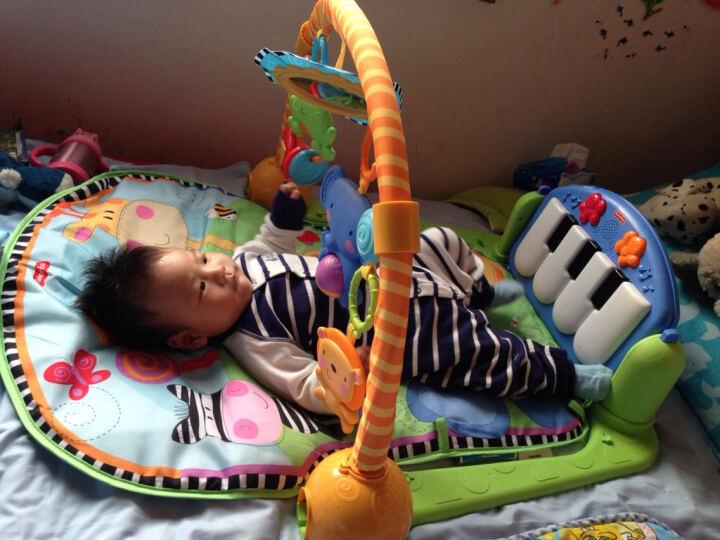 费雪牌(Fisher-Price)婴儿玩具脚踏钢琴宝宝0-1岁音乐健身架W2621 w2621+拍拍球 其他 晒单图