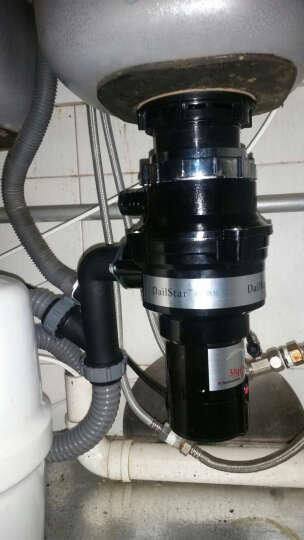 2015款德力斯特厨房食物垃圾处理器LC-375C,家用入门款,包邮包安装 外置独立式遥控开关 水槽下水口外径140mm 晒单图