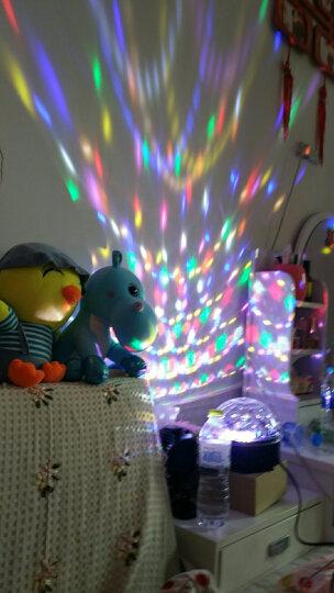 笑耀闪 声控ktv灯光彩灯家用球 带蓝牙酒吧舞台灯光球球七彩旋转灯迪厅灯 3大声控变光(9色带遥控) 晒单图