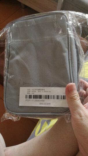 文艺青年 旅行套装便携包洗漱包洗刷包 男士女出差洗浴包折叠化妆包 便携户外旅行包收纳包 灰色 晒单图