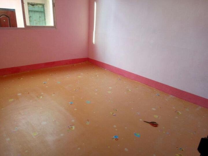 幼儿园塑胶地板革pvc地板贴纸加厚耐磨防水泥地板胶儿童房家用自粘地革地垫 1.6mm厚工程革GH028 晒单图