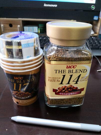 日本进口 悠诗诗UCC 117速溶咖啡  15g*4杯装 晒单图