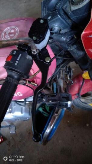 沃达迈 摩托配件铃木王上泵GN125GS125铃木太子银豹 钻豹 路霸豪爵刹车上泵碟刹上泵 上泵带手柄 一只 晒单图