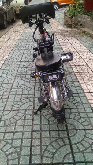 Liweidongli 力威12寸14寸折叠电动自行车48V锂电双人电瓶车轻便代驾电动车 拉线碟刹48伏26安约150公里 晒单图