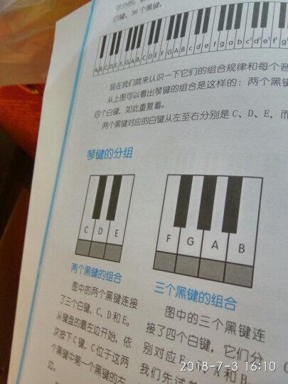从零开始 学习五线谱和乐理知识 五线谱自学教程 五线谱识读基础入门教程 晒单图