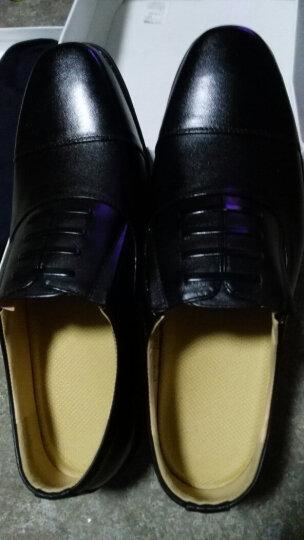3539正装制式皮鞋三接头式皮鞋 商务保安工作皮鞋 正装工装皮鞋 07BXW皮鞋民品 41 晒单图