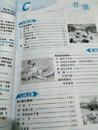 金星教育系列丛书 中学教材全解:九年级语文上(人教版 2015秋) 晒单图