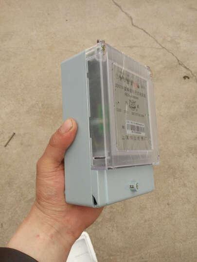 CNOBLE 单相智能液晶电表 带RS485远程抄表红 外抄表家用电能表A级 485远程+红外抄表 30(100)A 晒单图