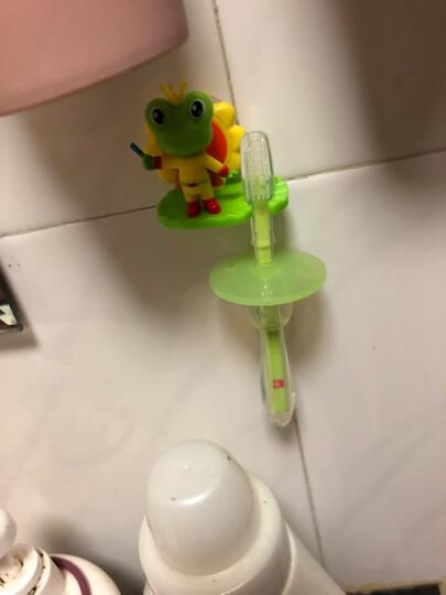 好孩子(gb)儿童牙刷婴儿宝宝牙刷1岁2岁儿童牙膏可吞咽婴幼儿指套牙刷新生儿护齿啫喱 硅胶牙刷2只装(1岁以上) 晒单图