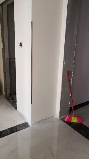 墙角保护条护墙角线  钛铝合金免打孔金属护墙角 壁纸墙纸护墙板墙护角  安全防护角 15*15*1.0MM玫瑰金拉丝 1.8米 晒单图