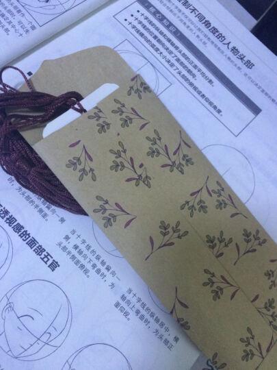 安若素 十二生肖卡纸书签套装 中国风古风绘画文化礼品木珠棉绳书签 创意礼品 送朋友同学孩子 十二生肖12张 晒单图