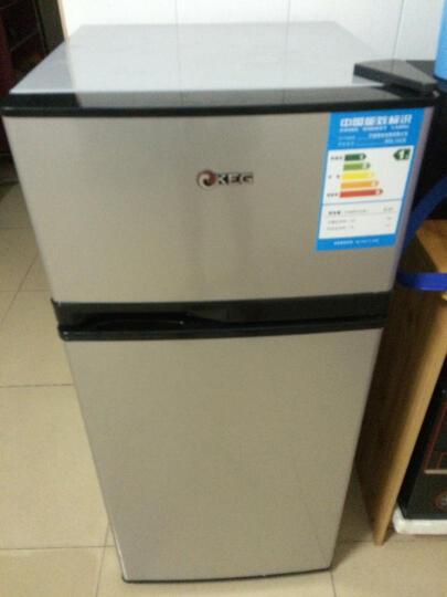 韩电(KEG)BCD-122JD 122升 双门冰箱 横拉丝 晒单图