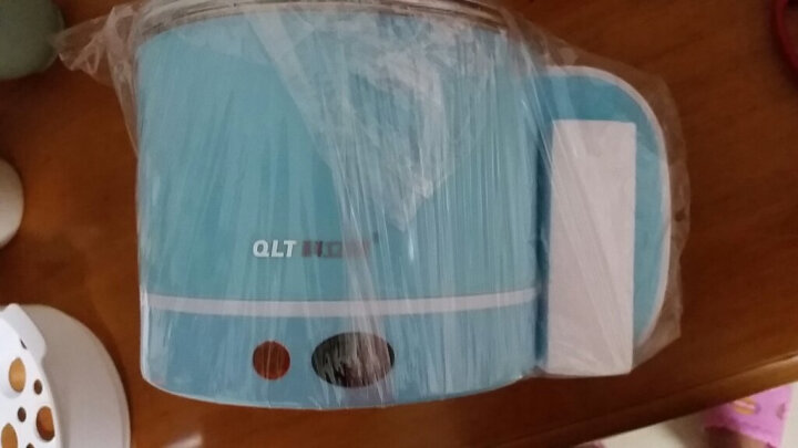 科立泰 (QLT)电煮锅迷你多功能小功率分体式电热锅电热杯小1-2人学生宿舍煮面电火锅泡面QLT-E1260 晒单图