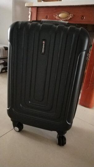 瑞士军刀威戈(Wenger)拉杆箱 男女商务休闲ABS 20英寸万向轮登机箱行李箱旅行箱 黑色 SAX631115109058 晒单图