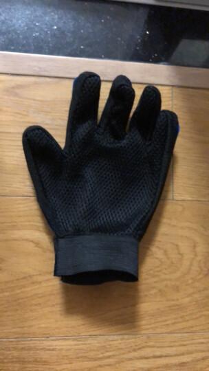 18TEE 高尔夫球手套 男士 深蓝色 夏季防滑透气布手套 23码 晒单图