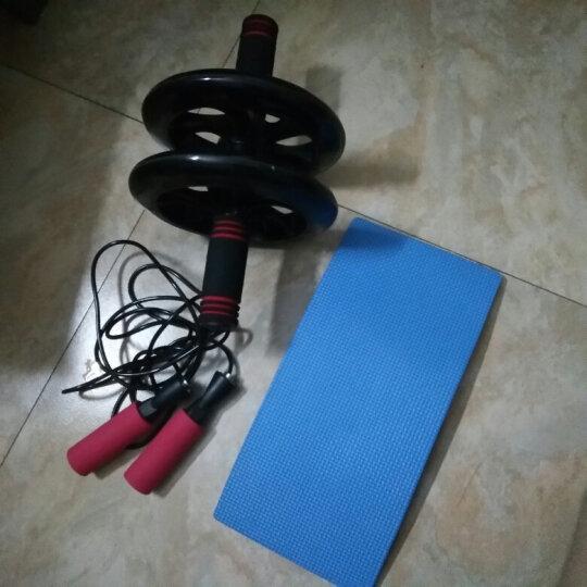 帝威静音健腹轮 200mm巨轮腹肌轮收瘦腰腹轮滚轮健腹器 黑色 其他中小型器材 巨轮/送跳绳+跪垫 晒单图