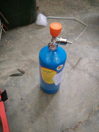 2L便携式组合焊炬 两用割炬 制冷机空调维修焊接工具套装 2升小型氧气焊具 铜管焊枪 焊割型 晒单图