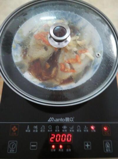 曼众 台嵌入式电陶炉光波炉 镶入式电磁炉竖式电陶灶红外炉电茶炉A6 电磁灶 电陶炉配汤锅炒锅 晒单图