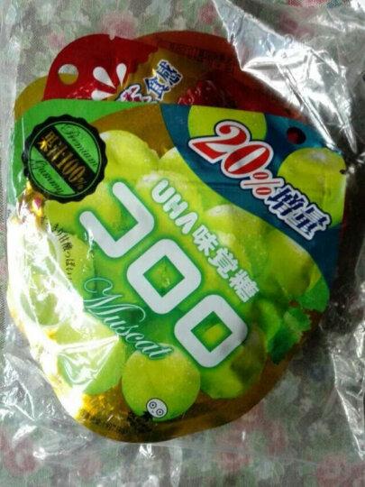 日本进口糖果UHA悠哈味觉糖果汁网红软糖水果味QQ糖休闲午后甜点零食品多种口味选择 白桃味4袋 晒单图