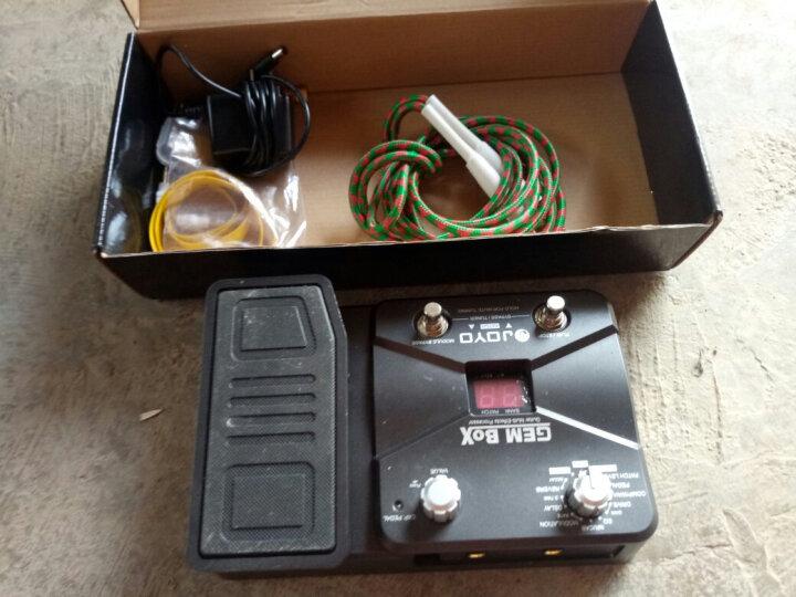 JOYO 卓乐JF系列电吉他单块/综合乐器效果器 GEM-BOX综合效果器 晒单图