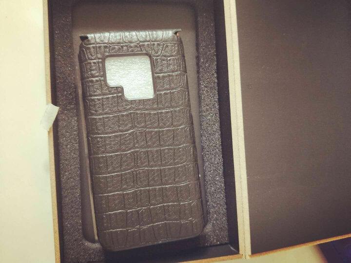 SZFY 手机套/保护套/手机壳可触屏开窗真皮皮套适用三星w2017w2016 【分体】w2016细鳄鱼纹棕色+送膜 晒单图