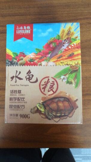 LIFELINE 命脉龟粮陆龟粮陆龟幼龟射缅陆观赏龟饲料陆幼龟粮300克 晒单图