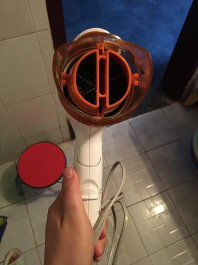 松下(Panasonic)电吹风吹风机筒静音宿舍儿童折叠离子功率家用护发 EH-WNE6C 宝石蓝 晒单图