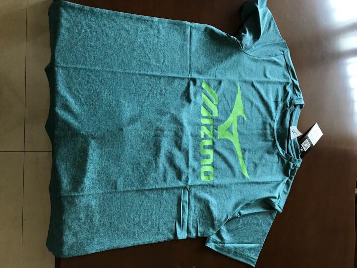 美津浓(MIZUNO)乒乓球服专业运动短袖T恤吸汗透气乒乓球衣服圆领 水蓝色 XXL 晒单图