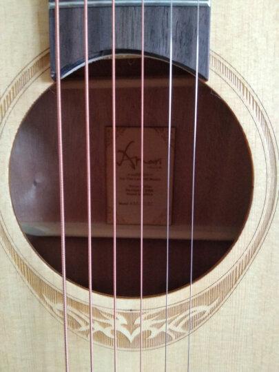 enya 【 恩雅 】单板民谣吉他40英寸41英寸吉它木吉他jita 初学者新手入门乐器!@# 云杉木 AM-418C哑光原木色 41寸 晒单图