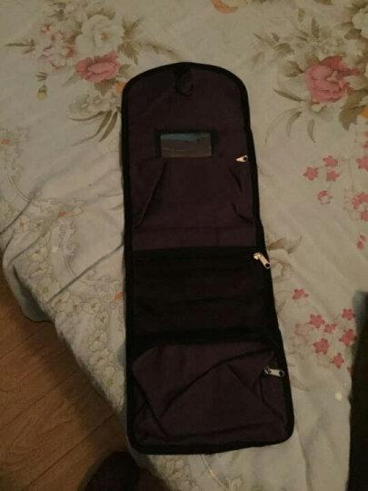 博兿(BOYI )旅行洗漱包男女士便携防水化妆包收纳袋出差户外必备 BY09190圆点印花 晒单图