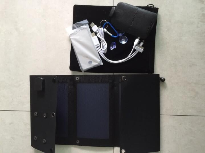 温倍尔太阳能 柔性薄膜太阳能移动电源 苹果手机平板充电宝器户外充电 太阳能充电器太阳能电池 晒单图