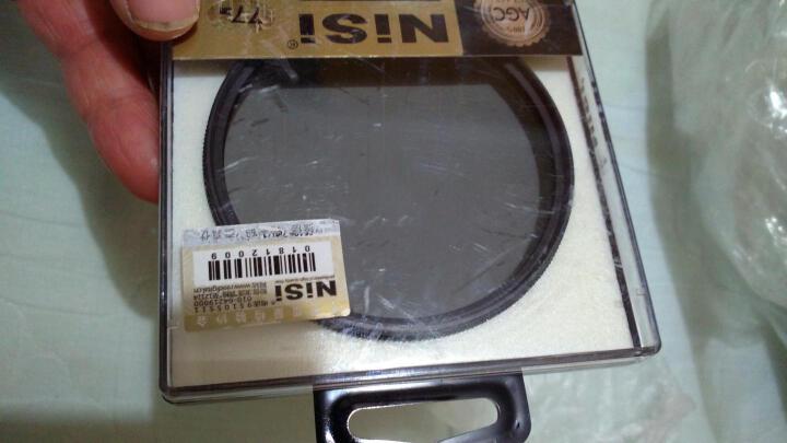 耐司(NiSi)CPL 37mm 圆形偏光镜  增加饱和度 提高画质 玻璃材质 单反滤镜 风光摄影 晒单图