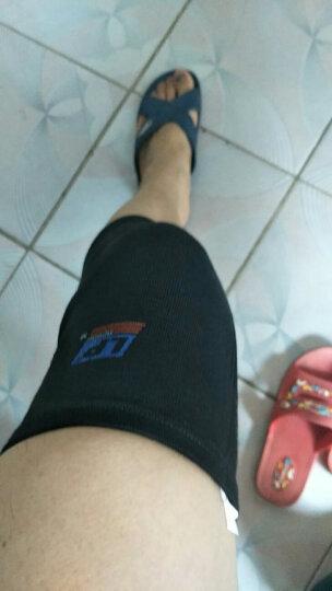 LP 夏季专业跑步运动护膝男女薄款膝盖篮球保暖健身装备护具600 男女 L 晒单图