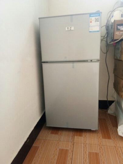 喜力(XIL)101升 双门 迷你小冰箱 家用小型电冰箱 冷藏冷冻节能静音 101升炫银【送货上门】 晒单图