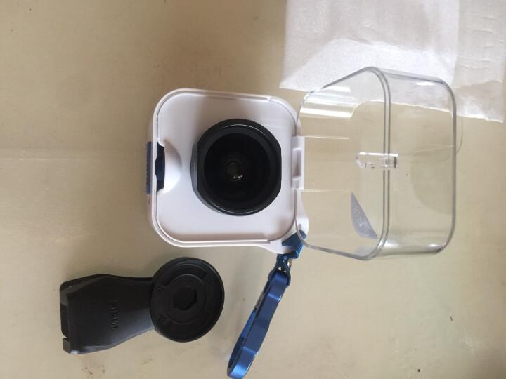 思锐光学手机镜头广角 苹果iPhoneX/8/7 Plus小米华为通用单反拍照外置摄像头 单反级【广角镜头】 曜石黑 晒单图