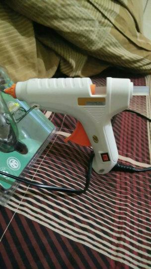 艾瑞泽热熔胶枪家用粘合神器调温热胶枪大功率带开关热熔枪玻璃硅胶条 80w+20根胶棒+工具包 晒单图