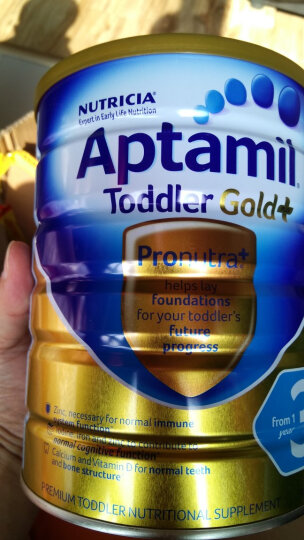 澳洲爱他美Aptamil白金版婴幼儿奶粉 4段(24个月以上)900g 晒单图
