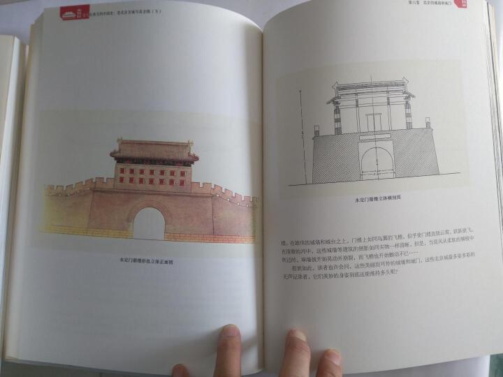 遗失在西方的中国史:老北京皇城写真全图(套装上下册) 晒单图