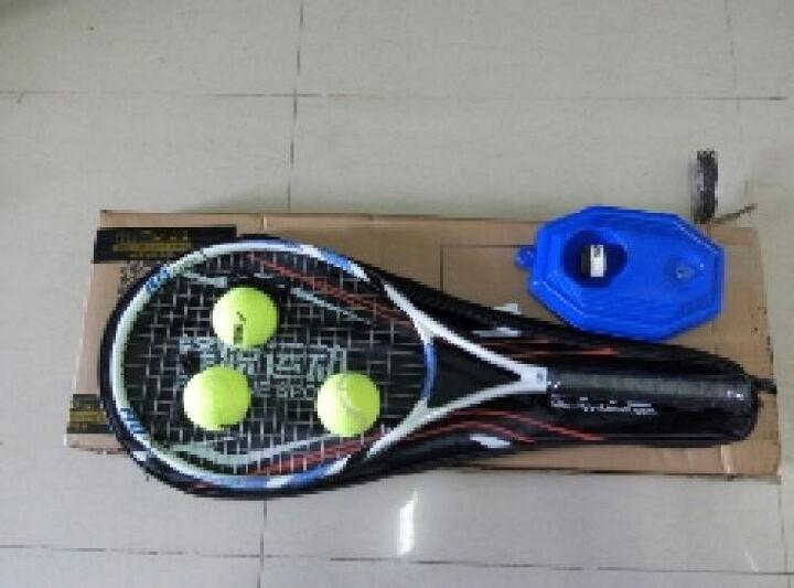 门特卡洛网球拍 碳素复合一体初学学生社团团购网球拍 白色 晒单图
