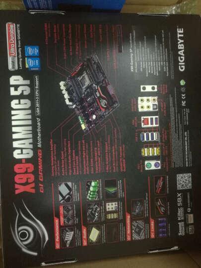 英特尔(Intel)i7 5930K 技嘉X99-UD4主板 盒装处理器套装 晒单图