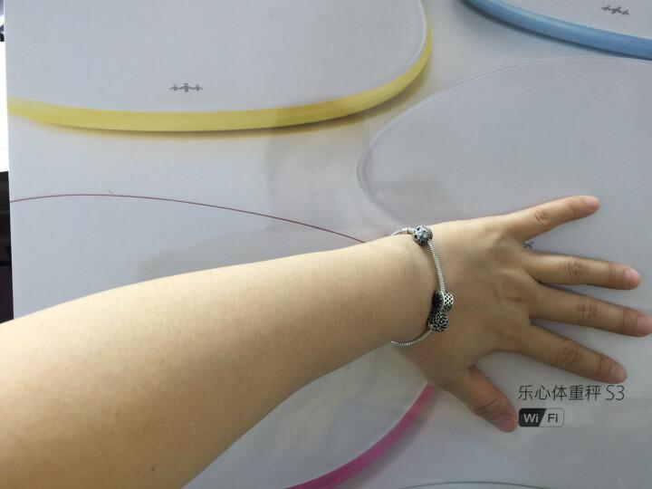 乐心 S3 电子秤 体重秤 电子称 智能WiFi数据传输 微信互联(白色) 晒单图